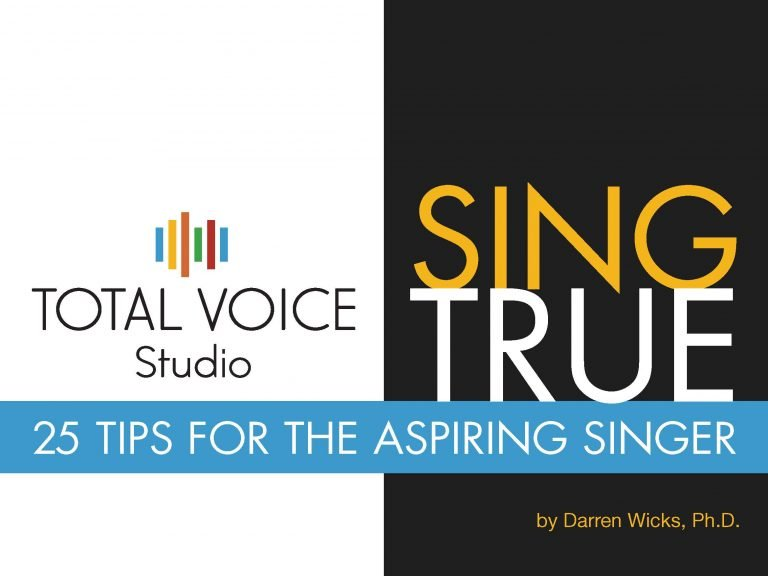 Comedy songs for music theatre performers - Total Voice Studio